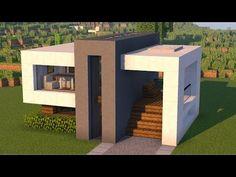 Minecraft Modern City, Minecraft House Plans, Minecraft Mansion, Minecraft Cottage, Easy Minecraft Houses, Minecraft House Tutorials, Minecraft Houses Blueprints, Minecraft Room, Minecraft House Designs