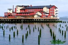 Highly recommended for your stay while in Astoria! Cannery Pier Hotel Astoria, Oregon-this is where you go with the husband