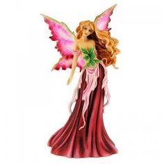 Amy Brown *Spring Queen* Fairy Figurine ~ Fairysite by Munro Fairy Statues, Fairy Figurines, Collectible Figurines, Amy Brown Fairies, Dark Fairies, Elves Fantasy, Fantasy Art, Spring Fairy, Miniatures