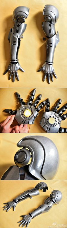Excellent work on one punch man genos cyborg arms!!!!  source:http://bit.ly/1RF5fjC