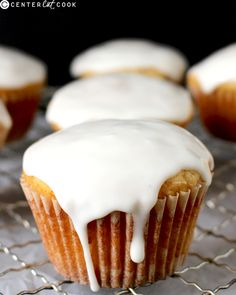 Eggnog yumminess These Eggnog Muffins are quick, easy, and are a great way to enjoy eggnog! A delicious breakfast or dessert. you can find similar pin. Eggnog Muffin Recipe, Muffin Recipes, Quick Easy Desserts, Just Desserts, Xmas Desserts, Gourmet Recipes, Dessert Recipes, Brunch Recipes, Yummy Recipes