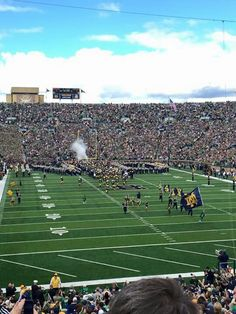Notre Dame football Saturday.