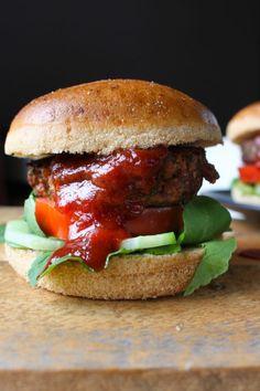 Low FODMAP Beef Burgers