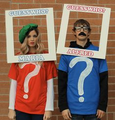 When it comes to Halloween, you could either do a solo costume, a group costume, or a couple's costume. Share the frightful night with your significant other with these cute couple's costumes for Halloween. Best Couples Costumes, Unique Halloween Costumes, Last Minute Halloween Costumes, Creative Costumes, Diy Costumes, Zombie Costumes, Family Costumes, Funny Costumes, Game Costumes
