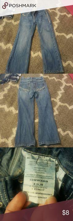 Boys wranglers 20x 8 slim still in great shape boys wrangler 20x jeans Wrangler Bottoms Jeans