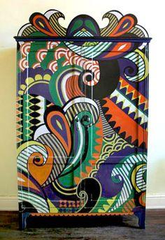 """Virgen de Cameroon,"" by Argentinian artist and designer Lucas Risé."