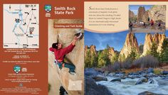 Smith Rock State Park climbing and trail guide, by the Oregon State Parks and Recreation Department