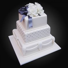 Square Cognac - Cakes by Ab Fab Cakes