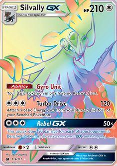 Pokemon Sun and Moon Lurantis-GX Secret Rare Card