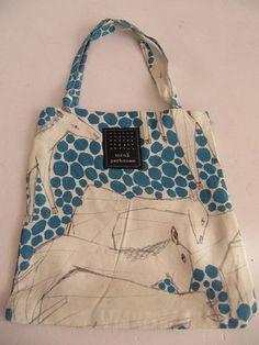 Oasis tote bag by Mina Perhonen