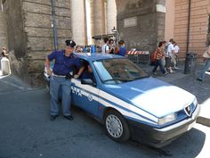 Alfa 155 Polizia à Roma