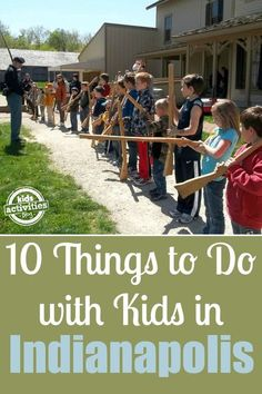 Great family vacation!  10 Things to Do with Kids in Indianapolis, IN - http://kidsactivitiesblog.com/46320/things-to-do-with-kids-in-indianapolis -  I love that there are so many great things to do with kids in Indianapolis Indiana!