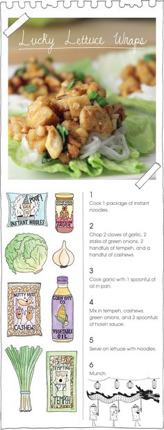 the vegan stoner.so many good ideas, starting with this one: lucky lettuce wraps. every recipe on this site begs making, and doesn& get fancy. Vegan Stoner, Vegan Foods, Vegan Vegetarian, Vegetarian Recipes, Healthy Recipes, Vegan Sushi, Healthy Food, Vegan Lettuce Wraps, Lettuce Wrap Recipes