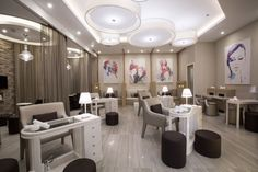 """Sisters Beauty Lounge is a luxury salon with multiple locations in Dubai and Abu Dhabi, catering to the modern women of the UAE. Following the tagline """"glamour has a new address"""", designers from Brand Creative, a Dubai-based design studio, were challenged"""