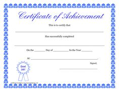 Certificate Of Achievement Templates Free Saint Patrick's Day Certificate  Certificates  Pinterest  Certificate
