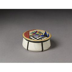 Box and cover - Emaux de Longwy 1920/1930 France