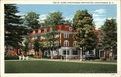 The St. Elmo Hotel, Chautauqua Institution. I worked there in 1966