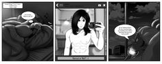MKX Komic: Hair Sexting by JassyCoCo