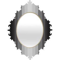 Lisa Argyropoulos Gray Matter Baroque Mirror