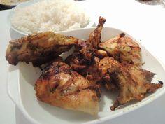 Le Canard Du Mékong : Poulet thaï Kai Yang Khamin Asian Recipes, Ethnic Recipes, Tandoori Chicken, Chicken Wings, Facebook, Food, Asian Cuisine, World Cuisine, Thai Chicken
