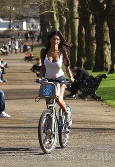 Girls on bikes :)