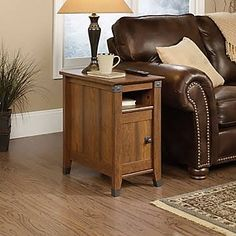 sofa side table with storage - Google Search