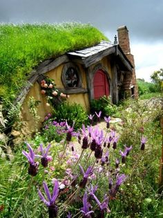 Hobbit House.  I want to build one for my kids someday.  Then I can play in too... :D