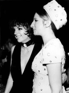 Barbra Streisand anfd Liza Minelli