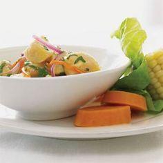 Peruvian Ceviche | MyRecipes.com
