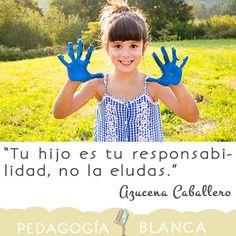 Tu hijo es tu responsabilidad, no la eludas.