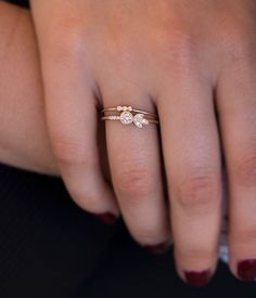 Diamond Rose Ring - Audry Rose