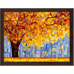 October Gold by Mandy Budan Print - 14in.x17in. $59.98