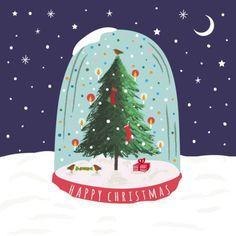 Victoria Allen - Xmas-tree-snowglobe-v.-allen-2-