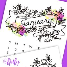 Free 2017 Printable Calendar: Merry Earlier Christmas!! Here's a gorgeous 2017 calendar printable available in black and white or with a splash of color! They are on an 8.5 x 11 therefore you could resize them to whateverr size you need them to be, either for you planner or office/craft space. To download click the...Read More »