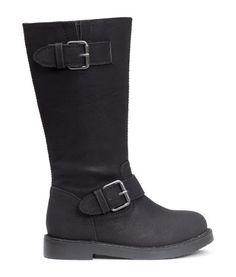 Long biker boots | Product Detail | H&M
