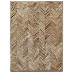Found it at Wayfair - Patchwork Cowhide Yves Wheat Area Rug