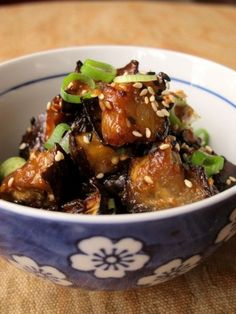 Nasu Dengaku なす田楽 (Oven Roasted Eggplant with Miso) Oven Roasted Eggplant, Roast Eggplant, Japanese Eggplant Recipes, Japanese Recipes, Vegetable Recipes, Vegetarian Recipes, Japanese Side Dish, Dhal Recipe, Asian Vegetables