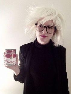 Andy Warhol Kostüm selber machen   Kostüm Idee zu Karneval, Halloween & Fasching
