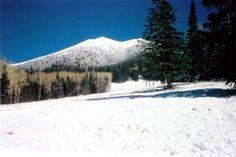 Arizona - lots of pretty white snow