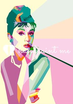 Audrey Hepburn Pop Art Canvas Printon a box canvas frame. Available in a range of sizes. Visit our pop art shop for more pop art canvas prints, paintings, T-shirts and mugs