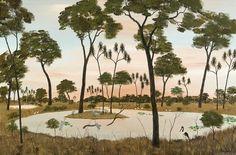 by Percy Trezise Australian Art, Awesome, Painting, Painting Art, Paintings, Painted Canvas, Drawings