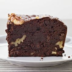 """""""Like all great desserts,"""" says Anne Quatrano, """"these brownies have only three pertinent flavors: chocolate, butter and walnuts."""" Quatrano, an F Best New Chef 1995, is the chef of a small empire of restaurants in Atlanta."""