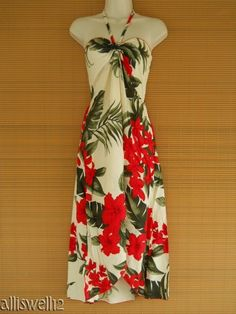 clothes from hawaii for women Luau Party Dress, Hawaiian Party Outfit, Hawaiian Costume, Luau Outfits, Floral Dress Outfits, Red Floral Dress, Party Outfits, Hawaiian Fashion, Tropical Fashion