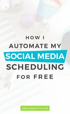 You don't need an expensive tool to schedule your social media content. By using several tools you can put your social media on autopilot. // Shaylee Smith