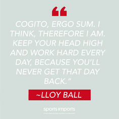 "Lloy Ball ""Keep your head high and work hard every day, because you'll never get that day back."" Outdoor Volleyball Net, Volleyball Equipment, Volleyball Motivation, Work Hard, Motivational Quotes, Day, Working Hard, Inspirational Qoutes, Quotes Motivation"