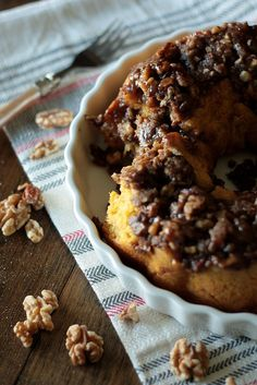 Pumpkin Praline Monkey Bread and Red Star Yeast {GIVEAWAY}! - Country Cleaver