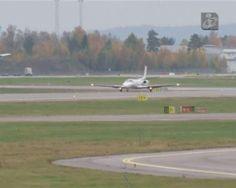 Avião que transportava médica infectada pelo vírus rumo a Oslo precisava de reabastecer, foi-lhe recusada a aterragem por falta de condições de segurança