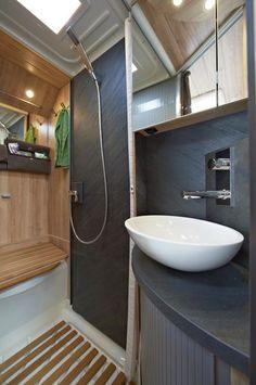 Luxury Rv Bathroom Skylight Entegra Coach Products Haute Rv 39 S Pinterest Rv Bathroom