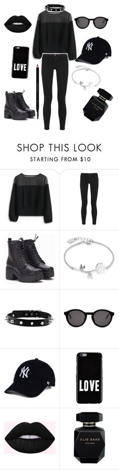 """""""Untitled #42"""" by nico-robin5 ❤ liked on Polyvore featuring Chicwish, Frame, Disney, Thierry Lasry, Givenchy, Elie Saab and Gucci"""
