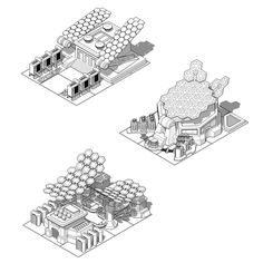Concepts building for mobile games on Behance